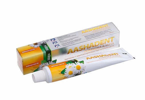 Зубная паста  Ромашка& Мята Aasha Herbals, 100гр.