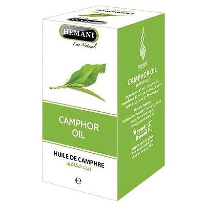 Масло Камфорное, Camphor oil HemaniI, 30мл.