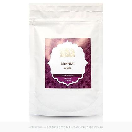 Порошок Брахми против выпадения волос, Indibird Brahmi Churna, 100гр.