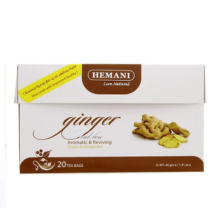 Чай с имбирем Hemani Herbal Tea Ginger, 20пак.