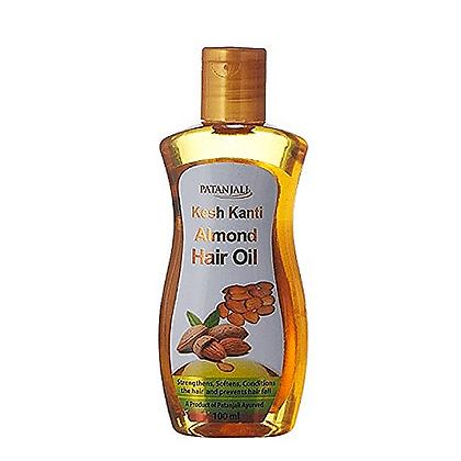 Миндальное масло для волос Патанджали, Almond Hair Oil Patanjali, 100мл.