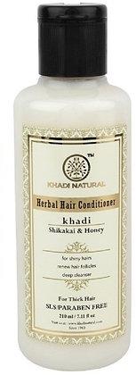 Кондиционер для волос Шикакай и Мёд без SLS, Khadi, 210мл.