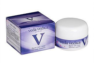 Крем для лица ночная защита, Veda Vedica