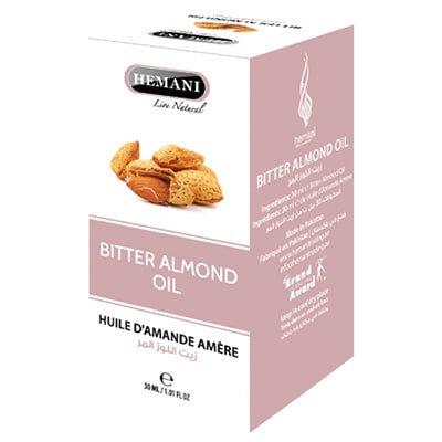 Масло Горького миндаля, Bitter Almond oil HemaniI, 30мл.