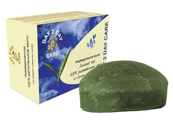Мыло натуральное Зеленый чай, Day 2 Day Care, 100гр.