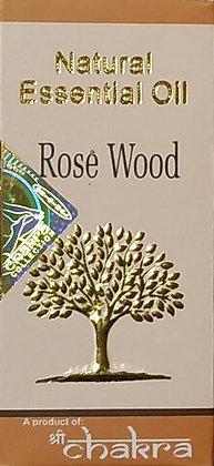 Эфирное натуральное масло Розовое дерево, Natural Essential Oil Rose Wood, 10мл