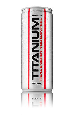 Titanium Pre work out cans - pack 24