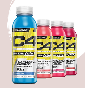 C4 ON THE GO - Ready to drink - 12 pack