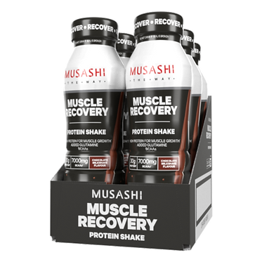 Musashi MUSCLE RECOVERY Shake 375ml (Box of 6 Drinks)
