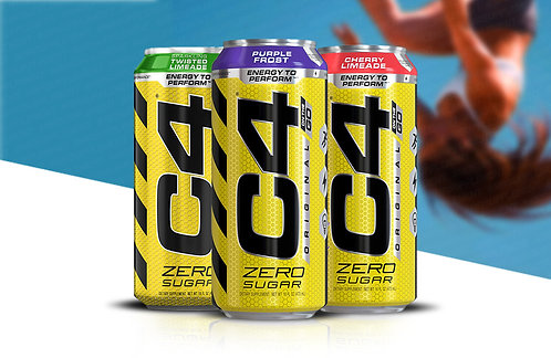 C4 Cellucor - Original Carbonated 473ml can pack of 12