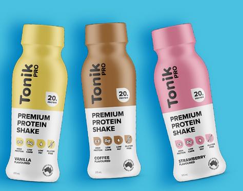 Tonik Pro Shakes - pack of 12