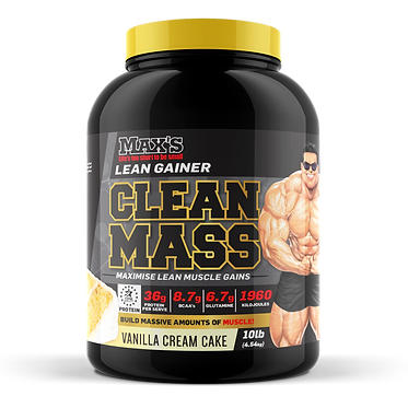 Maxs Clean Mass 2.27kg tub