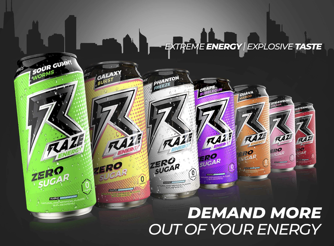Raze energy buy wholesale png