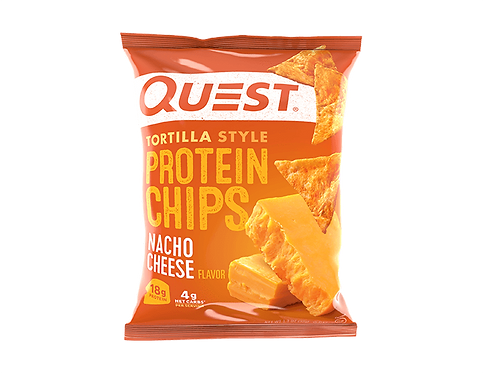 Quest Tortilla Protein Chips - Pack of 8