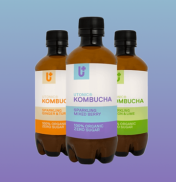 Utonic Kombucha - Box of 12