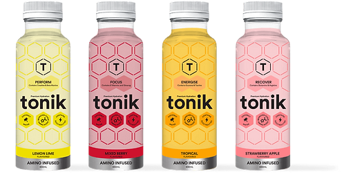 Tonik Premium Hydration Drinks - pack 12