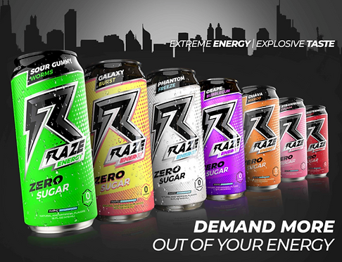 RAZE ENERGY DRINK 12 Pack