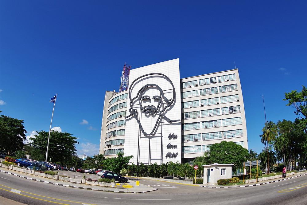 ハバナ 革命記念広場 カミーロ・シエンフエゴス キューバ