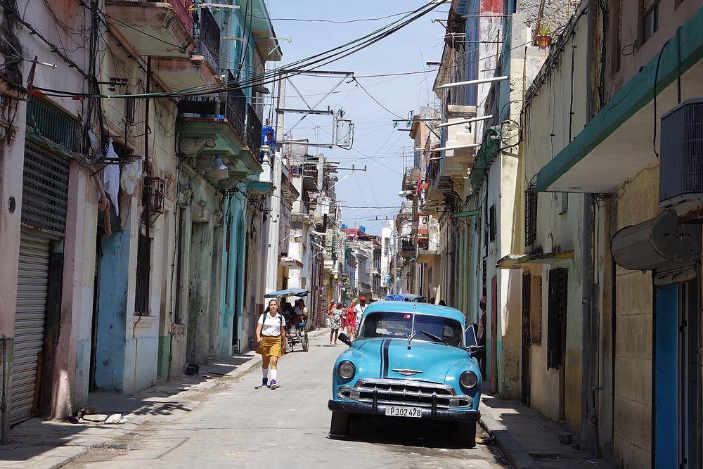 キューバ ハバナ オールドハバナ