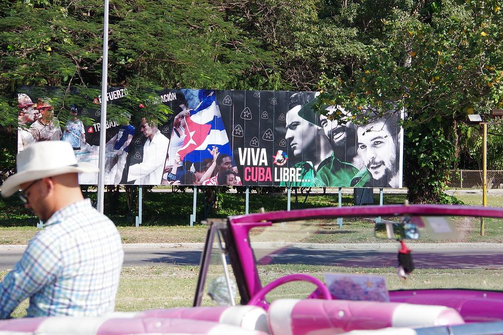 キューバ 革命記念広場 チェ・ゲバラ カミーロ・シエンフエゴス