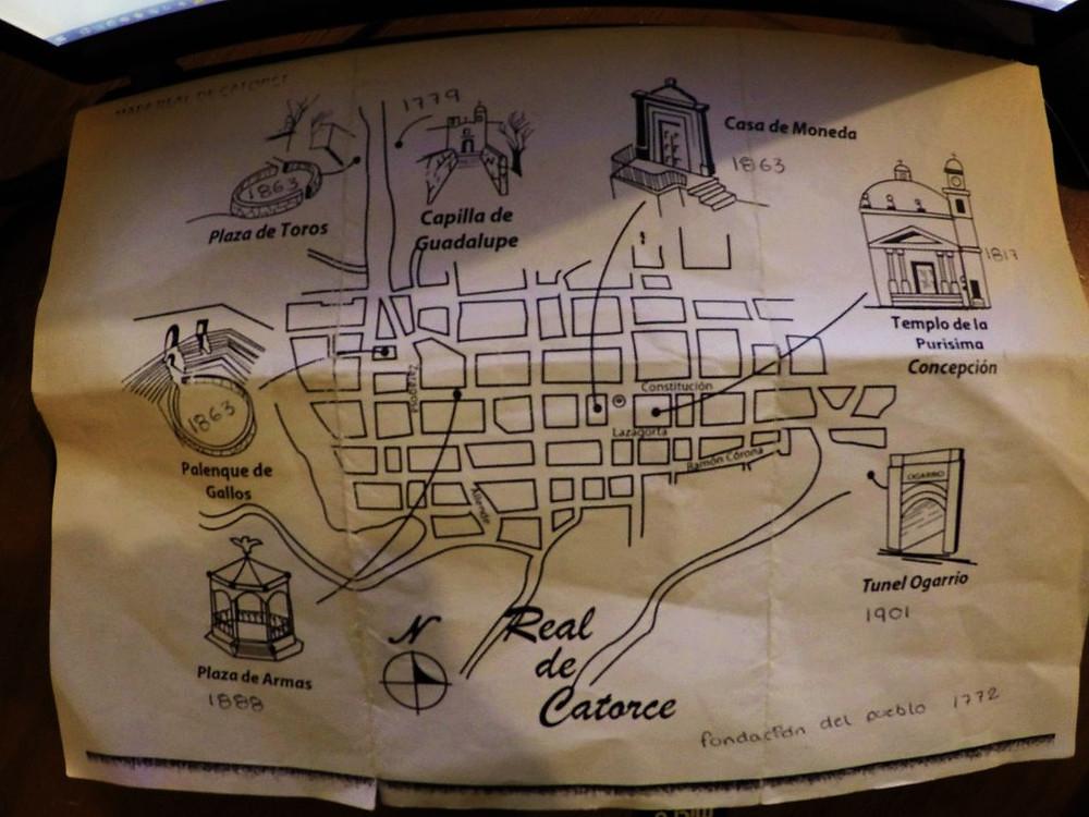 レアル・デ・カトルセの地図
