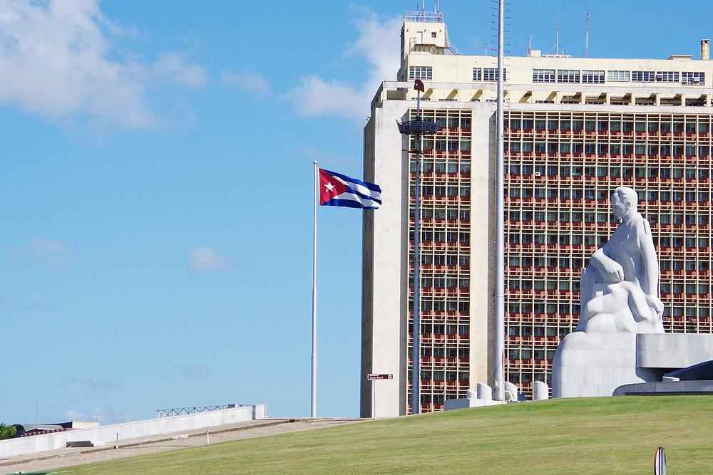ホセ・マルティ 革命記念広場 ハバナ キューバ