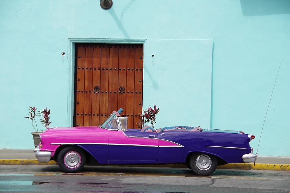 キューバ ハバナ アメ車 クラッシックカー
