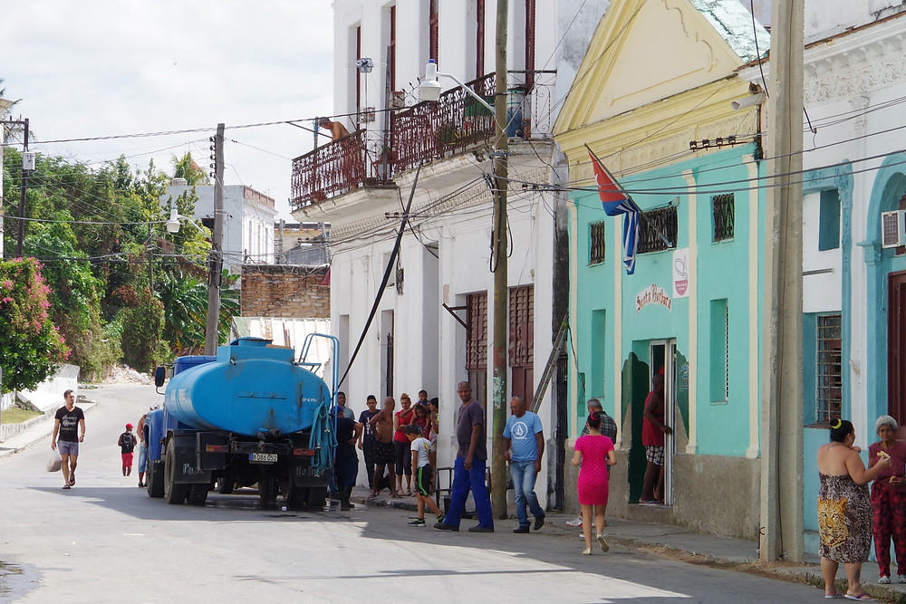 キューバ ハバナ カサブランカ 給水