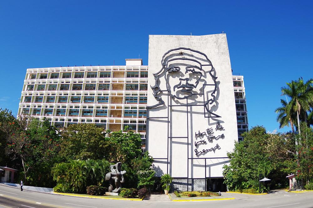 ハバナ 革命記念広場 チェ・ゲバラ キューバ