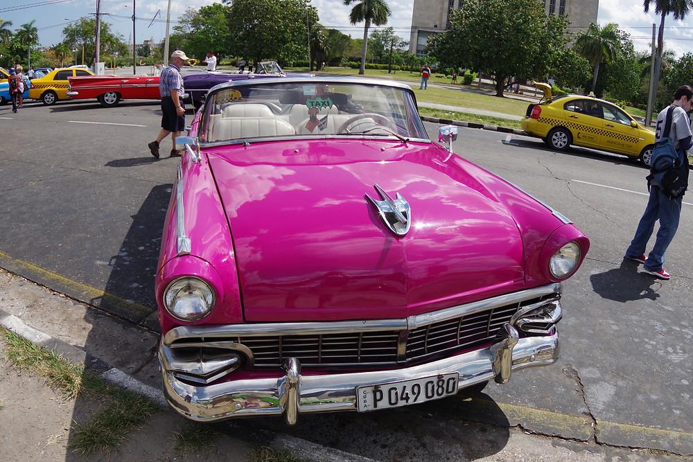 キューバ ハバナ アメ車 ツアー