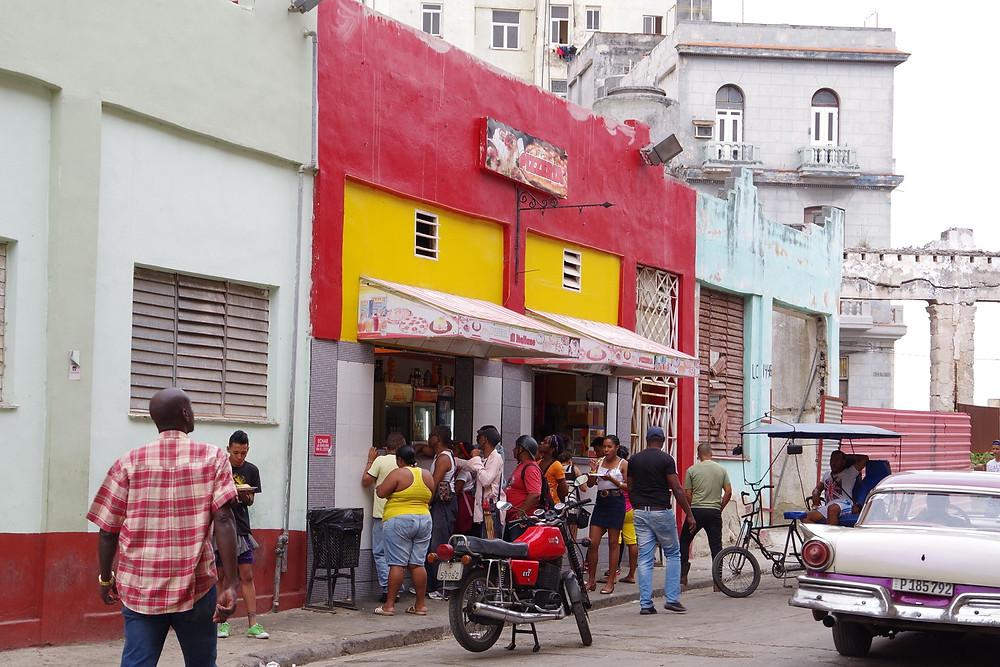 キューバ ハバナ スパゲティ モネダ飯