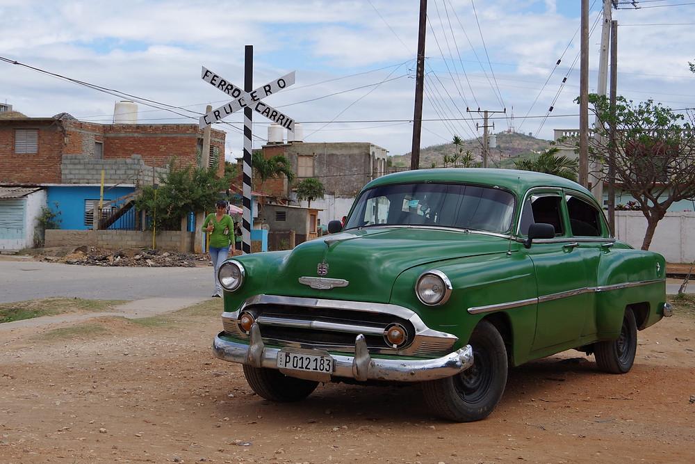 トリニダー キューバ アメ車