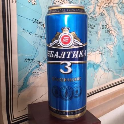 ビール ロシア