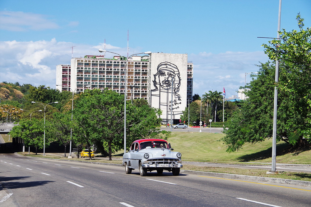 キューバ 革命記念広場 チェ・ゲバラ ハバナ