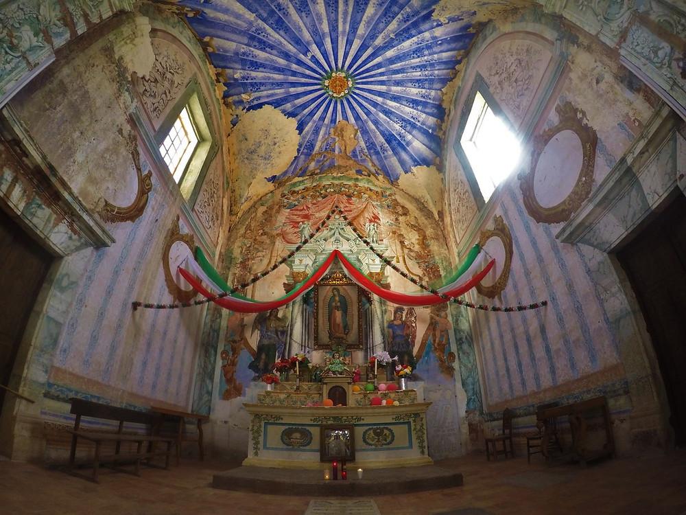 朽ちた教会