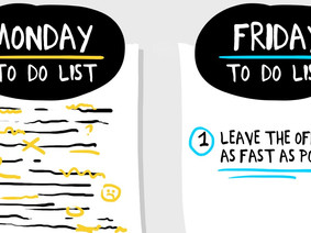 Four Ways to Improve Your Friday Productivity