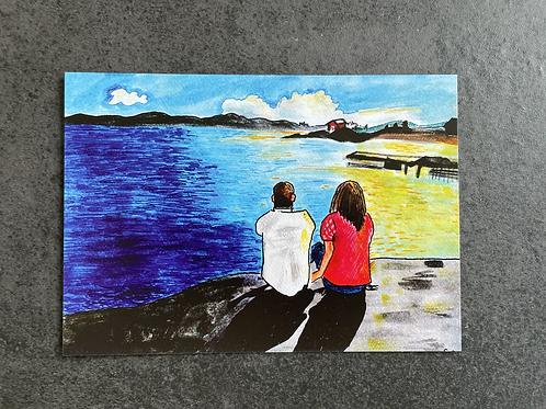 """Postkort - """"Siblings in the archipelago"""""""