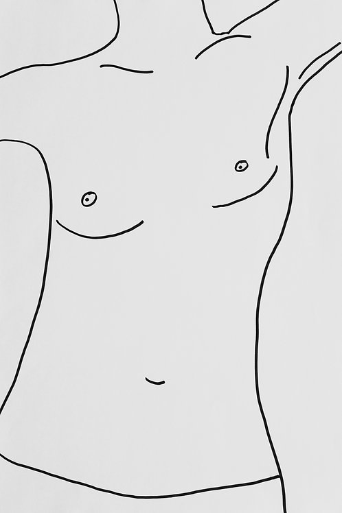 Fine Art Print - Female Torso I
