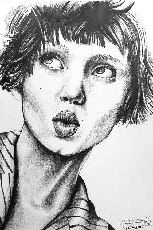"""Fine Art Print - """"Fantasie"""""""