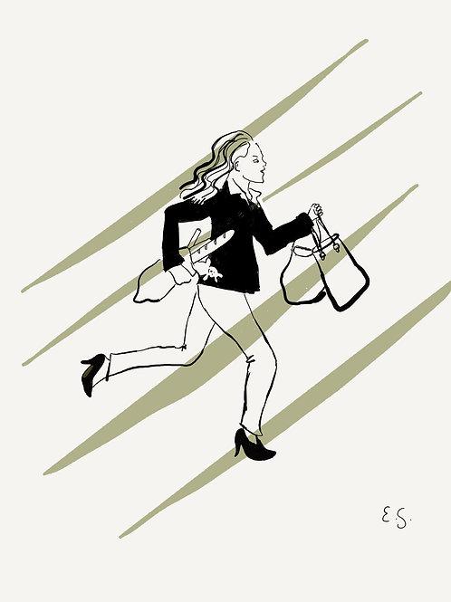 Fine Art Print - Runner