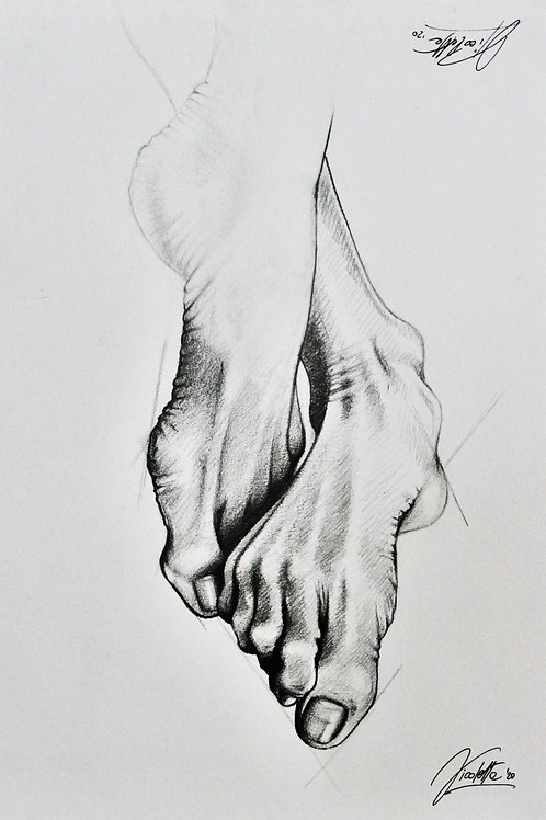 "Trykk - Fine Art Print - ""Exercise"""