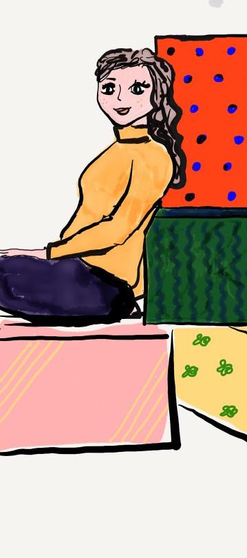 Box Lady