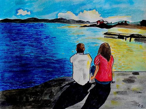 Fine Art Print - Siblings in the Archipelago