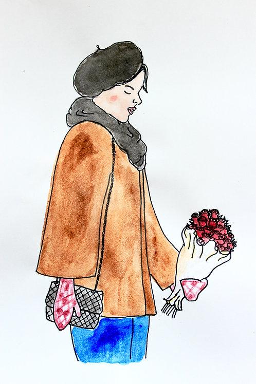 Fine Art Print - Miss Valentine