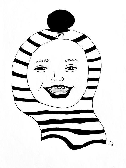 "Trykk - Fine Art Print - ""My Boy"""