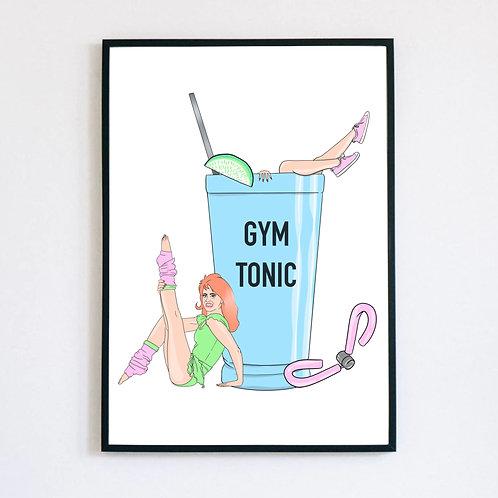 "Trykk - Print ""Gym Tonic"""