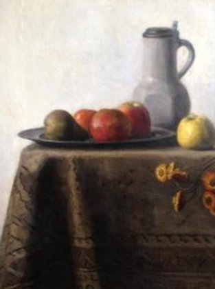 Still life with fruits - Thé Lau