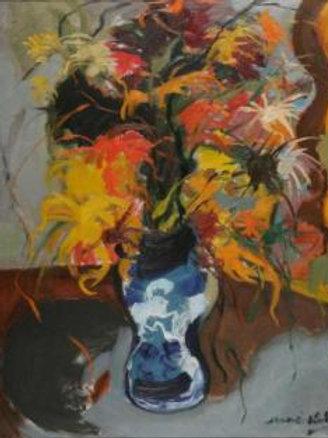 Flower still life - Mané Katz