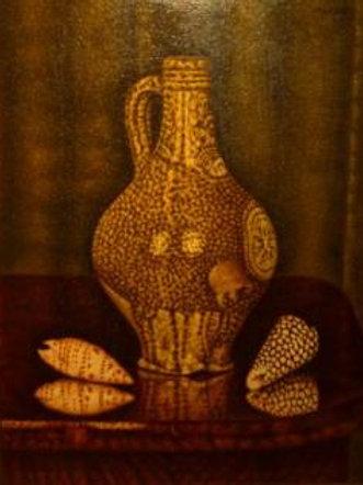 Still-life with shells - Sal Meijer