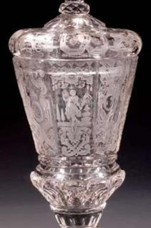 Silezian Goblet with Cover